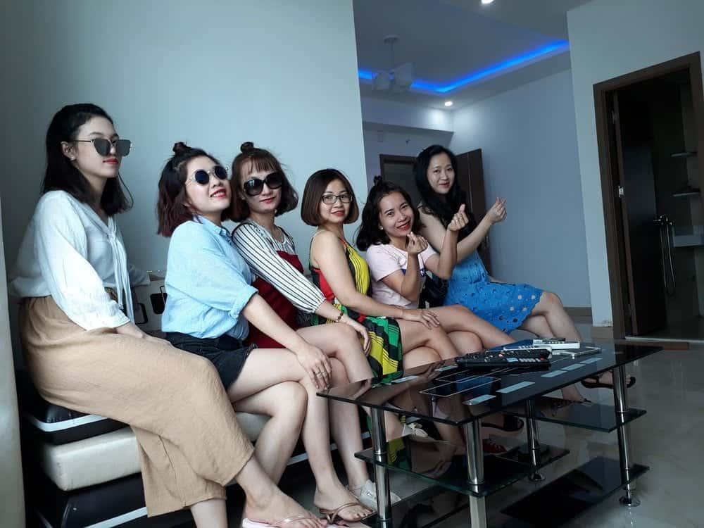 Kỳ nghỉ tuyệt vời cùng với những người bạn tại Nha Trang Apartment