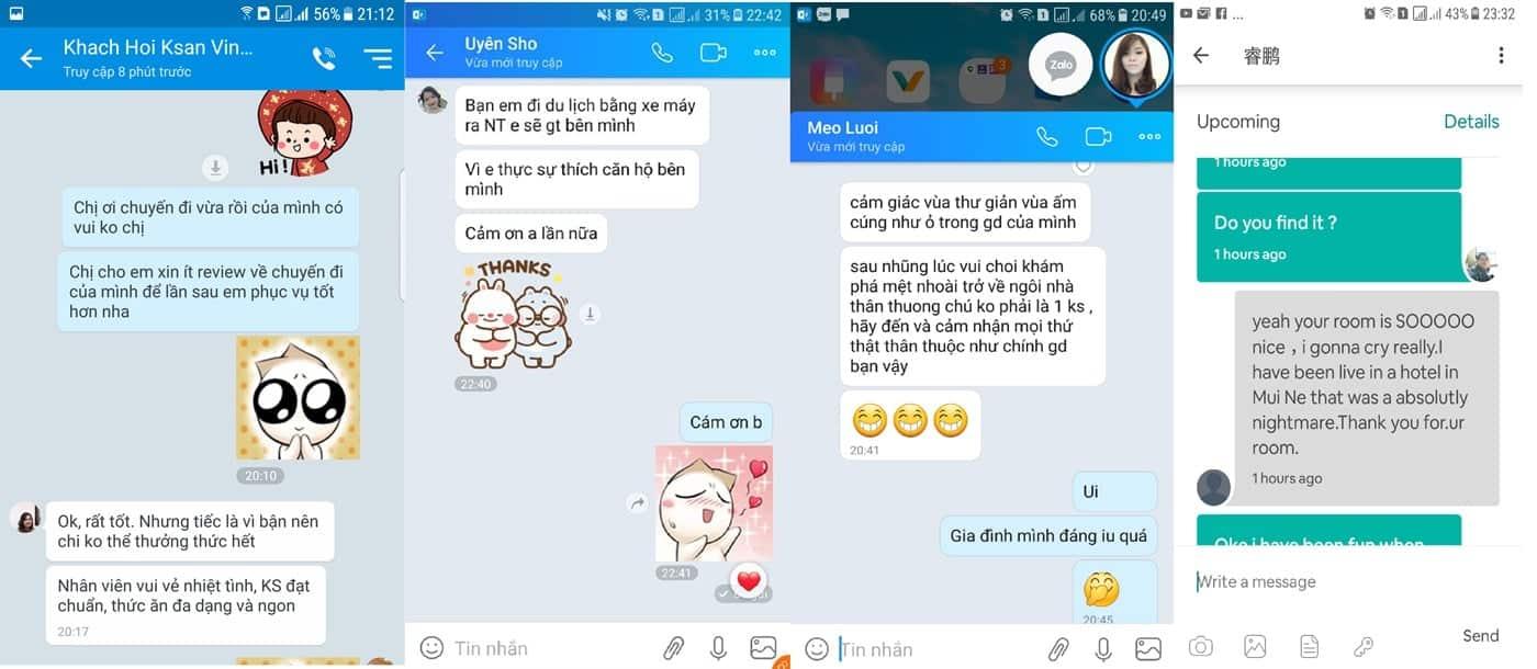Review khách hàng về căn hộ khách sạn Nha Trang Vip