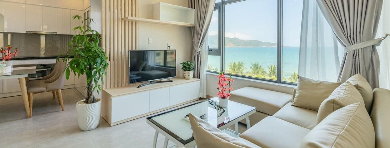 Căn hộ view biển tuyệt đẹp của Nha Trang Vip