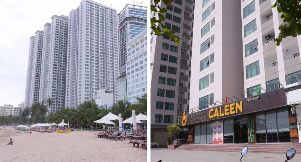 Tòa nhà căn hộ khách sạn NhaTrangVip