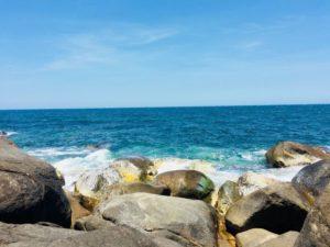 Cảnh đẹp hoang sơ tại Hang rái