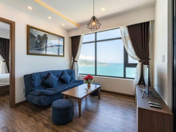 chất lượng căn hộ khách sạn view biển