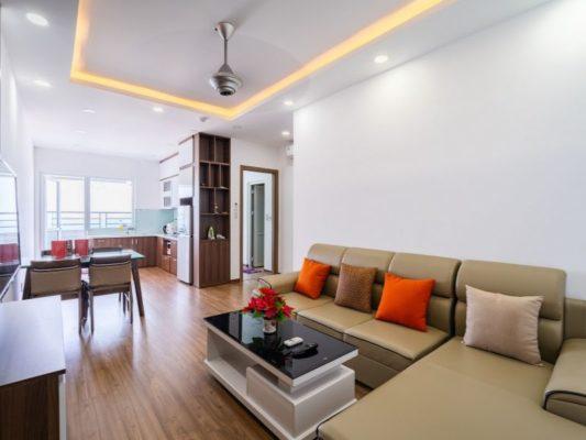 Màu sàn căn hộ tiêu chuẩn