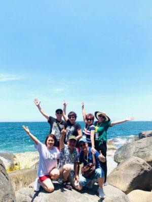 Tận hưởng kỳ nghỉ cùng bạn bè tại Hang Rái Bình Hưng