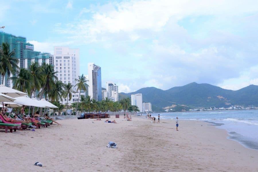Hình ảnh đẹp về Bãi biển Nha Trang