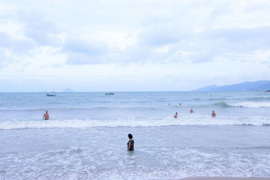 Hình bãi biển Nha Trang
